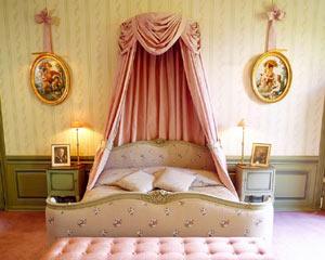 Jag vill sova som en prinsessa på ett slott!
